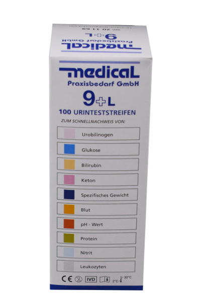 Urinteststreifen medical 9+L