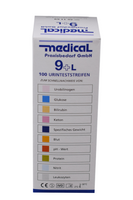 Teststreifen Medical 9+L (Servotest 10)